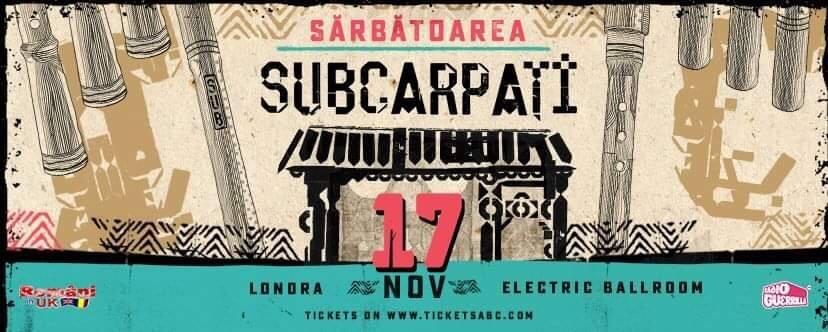 """Sărbătoarea """"Subcarpați"""" 2018 – Londra"""