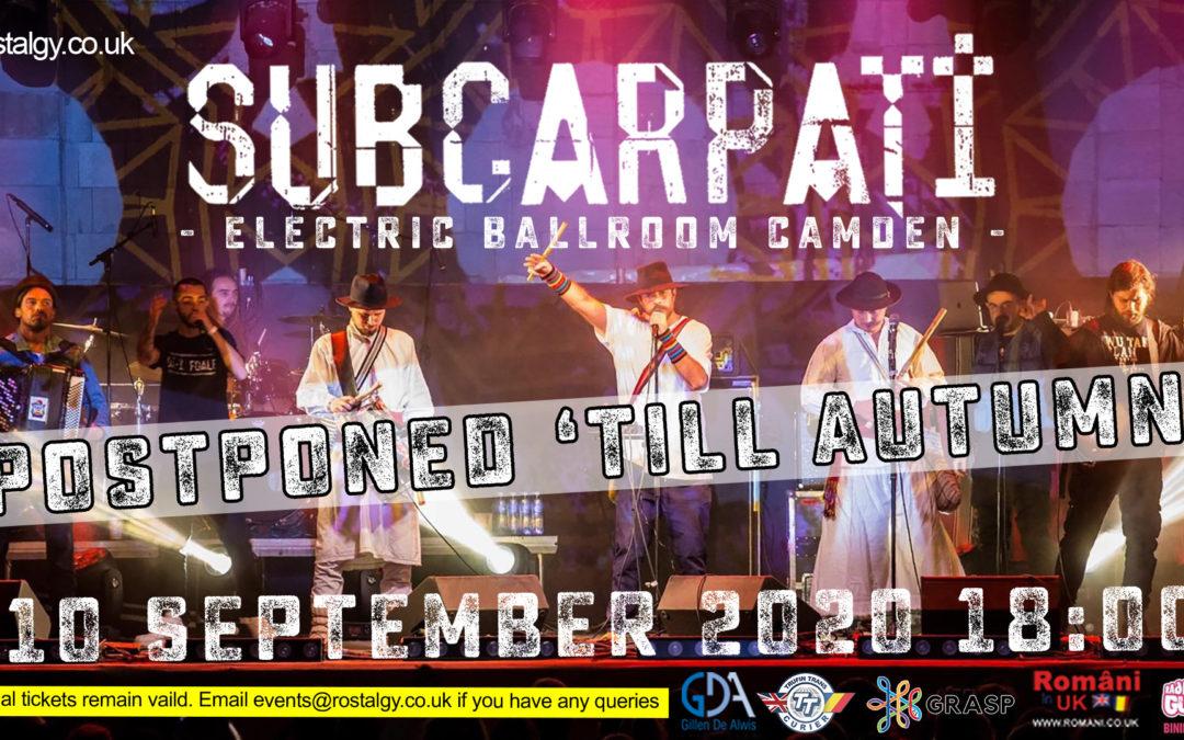 Subcarpati 2020 – Electric Ballroom