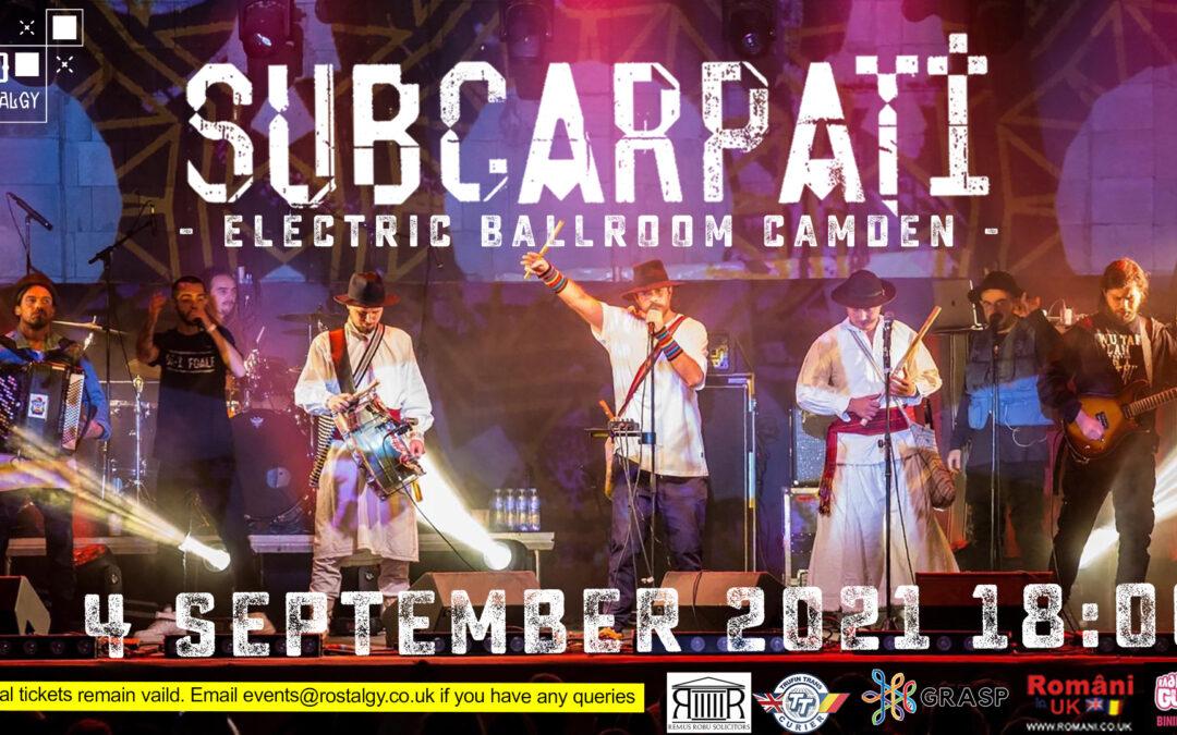 Subcarpati 2021 – Electric Ballroom