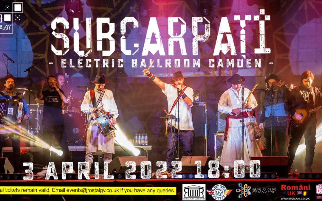 Subcarpati 2022 – Electric Ballroom