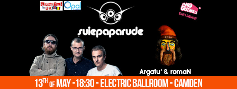 Suie Paparude + Argatu' at Electric Ballroom – Camden Town